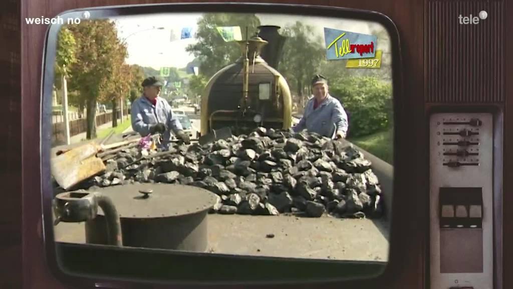 Unterwegs mit der Spanisch Brötli Bahn - 1997