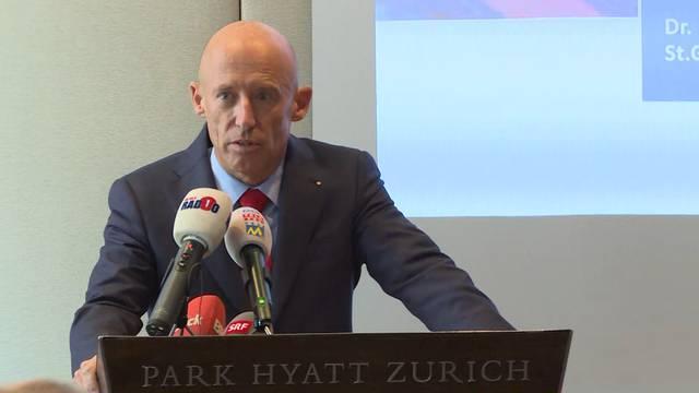 Raiffeisen-Chef Patrik Gisel tritt zurück