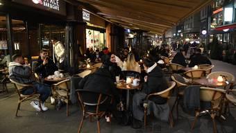 Der Abend vor dem Shutdown in Basel