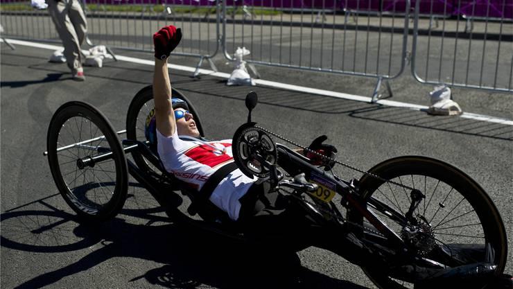 Wie an den Paralympics 2012 in London will Tobias Fankhauser aus Hölstein auch an der Heim-WM in Nottwil jubeln.