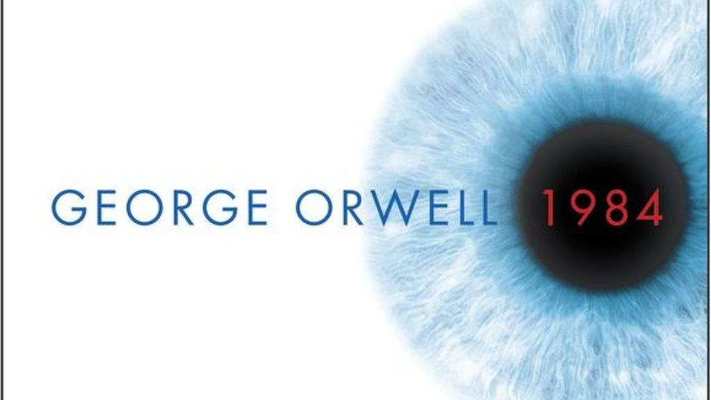 """George Orwells negative Utopie """"1984"""" passt derzeit in den USA wie die Faust aufs Auge. Im Sommer kommt eine Bühnenfassung an den Broadway. (Archivbild)"""