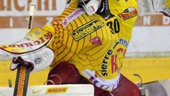 Sierre-Goalie Martin Zerzuben.