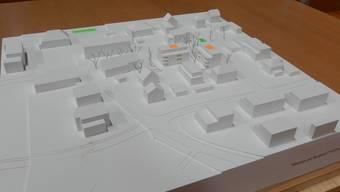 Das Projekt «Wohnen am Dorfplatz». Dafür haben die Stimmbürger 6 Millionen Franken genehmigt.