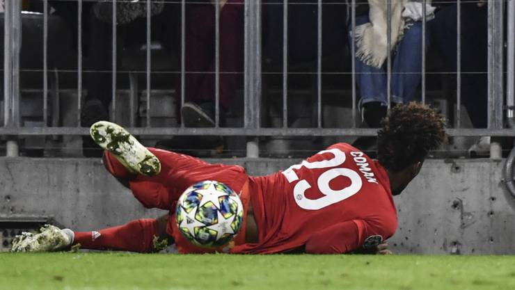 Bayerns Kingsley Coman fällt bis Jahresende aus