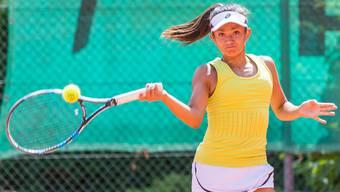 Tamara Arnold bestritt ihre letzten nationalen Nachwuchstitelkämpfe.
