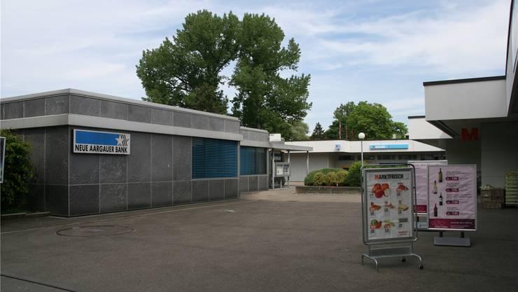 Neuenhofer Ladenviertel bald ohne bemannte NAB-Geschäftsstelle. -rr-