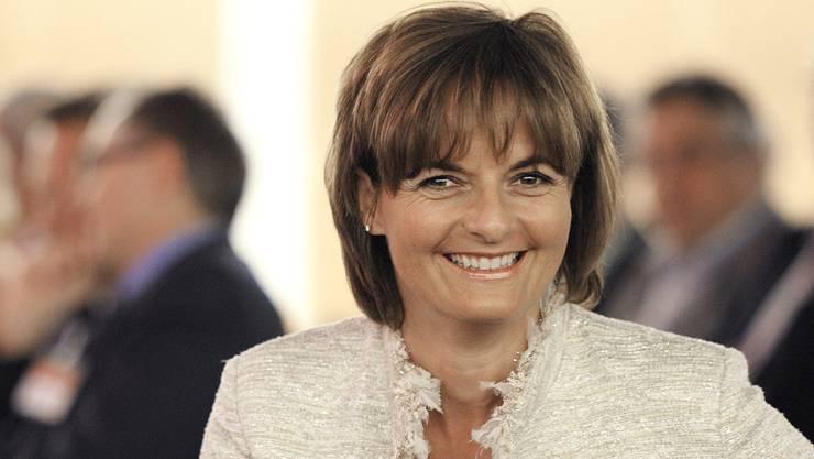 Alt Bundesrätin Ruth Metzler meldet sich zurück.Keystone