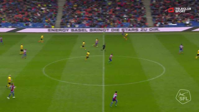 Super League, 2017/18, 34. Runde, FC Basel - BSC Young Boys, 3:0 Luca Zuffi