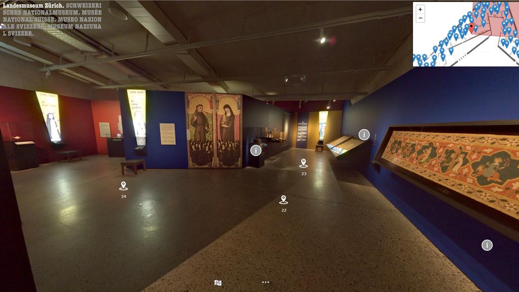 So kannst du virtuell das Landesmuseum besuchen