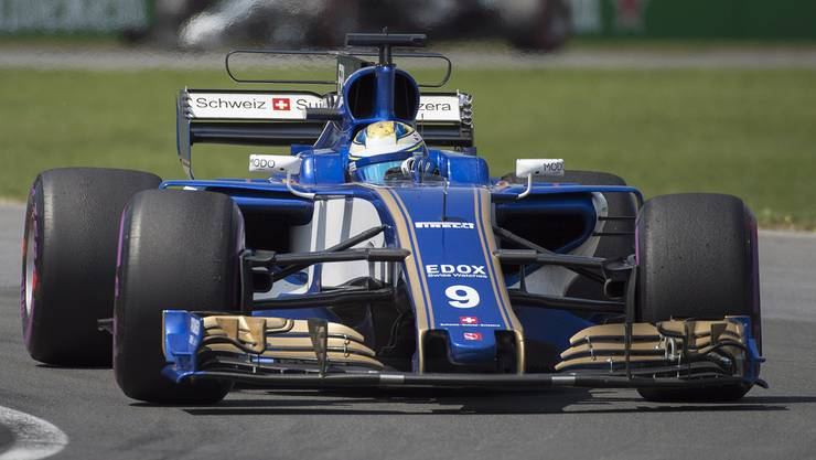 Im Bild: der Sauber C36; Fahrer: P. Wehrlein (GER), M. Ericsson (SWE), A. Giovinazzi (ITA)