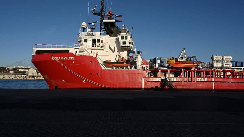 Viele Flüchtlinge verlassen Libyen: Über 400 auf der «Ocean Viking»