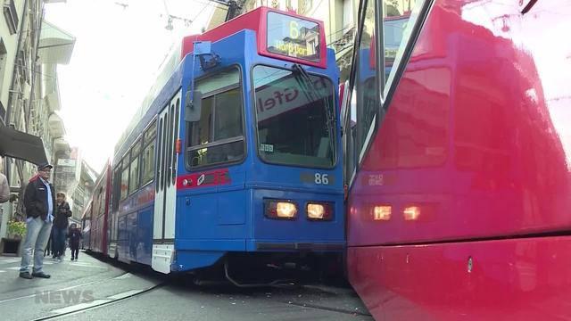 Tramkollision in Bern