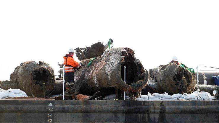 Der Dornier Bomber wurde vor mehr als 70 Jahren vor der englischen Küste abgeschossen.