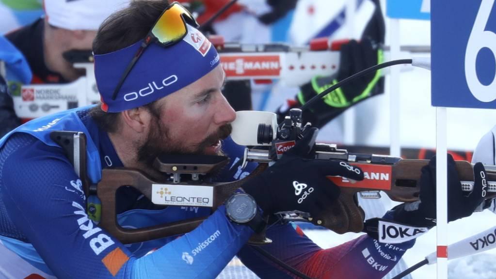 Benjamin Weger: Im Schiessstand will es an den Weltmeisterschaften in Pokljuka einfach nicht klappen.