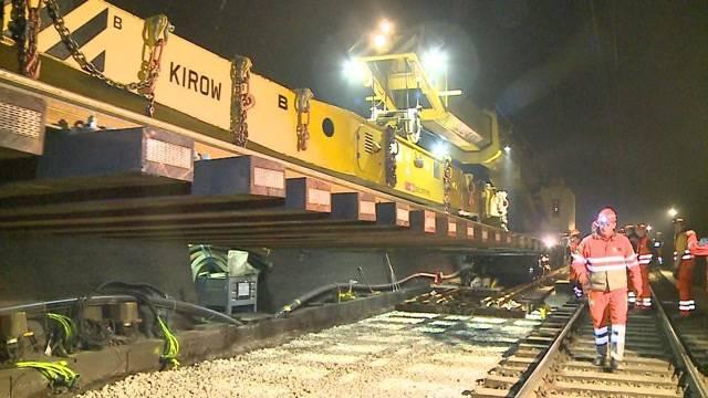 Totalsperre für Hauenstein-Tunnel