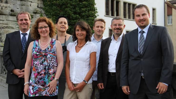 Der neue Verwaltungsrat mit Geschäftsführerin Rebekka Hansmann (mitte)
