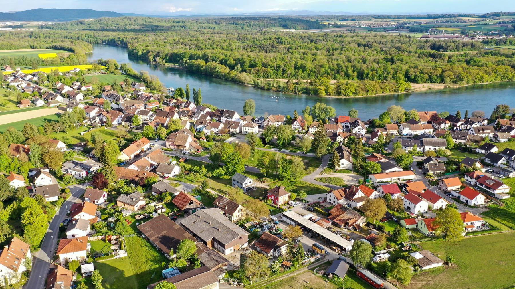 Umgeben von der Schweiz: Die deutsche Exklave Büsingen.