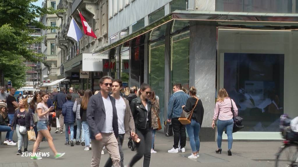 In Zürich herrscht wieder Shoppingfieber