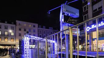 Das Partylokal Fame beim Claraplatz