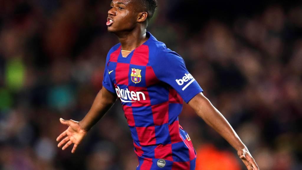 Fati schiesst Barcelona zum Heimsieg