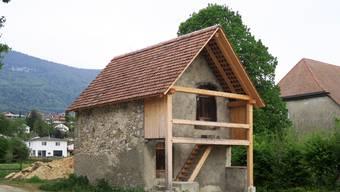 Restaurierter Steinspeicher in Selzach
