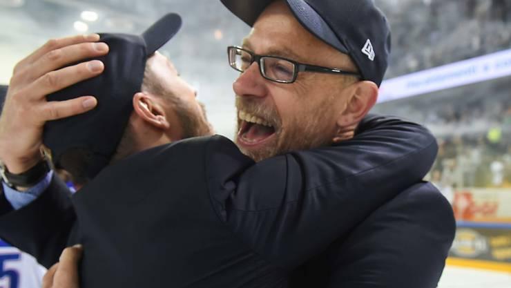 Trainer Hans Kossmann gelang bei den ZSC Lions in vier Monaten eine Totalüberholung, die im Meistertitel gipfelte.