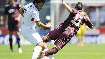 FC Sion mit Gattuso (links) in Aktion