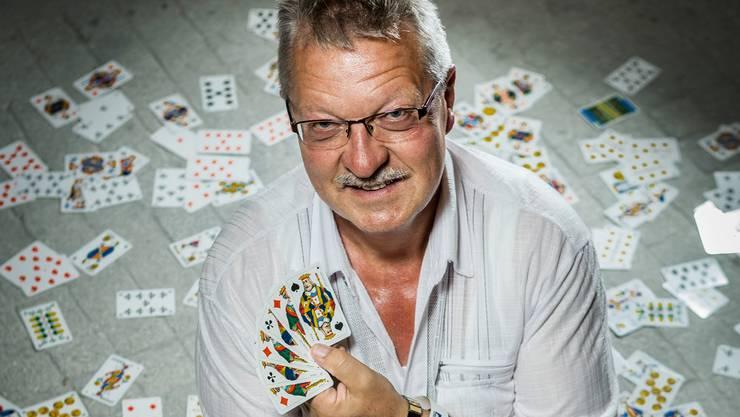 Erster und amtierender AZ-Jasskönig: Thomas Hollinger aus Wil.