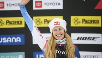 Fanny Smith will auch beim Saison-Finale in Veysonnaz vom Siegerpodest winken