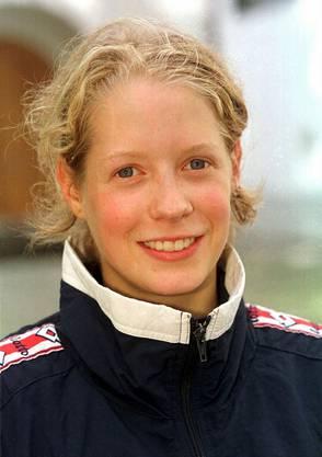 Regula Hulliger in jungen Jahren: 1999 überraschte die Bernerin an der Schweizer Meisterschaft alle.