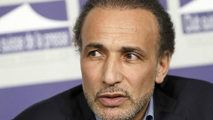 Sitzt seit Februar in Frankreich in Haft: der Schweizer Islamwissenschaftler Tariq Ramadan. (Archivbild)