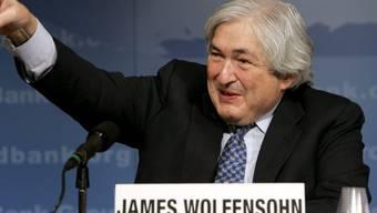 Der einstige Präsident der Weltbank, James D. Wolfensohn, ist verstorben. (Archivbild)