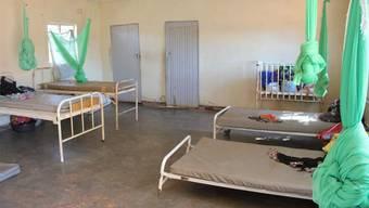 In der Geburtsabteilung des medizinischen Zentrums von Yesaya Juba.