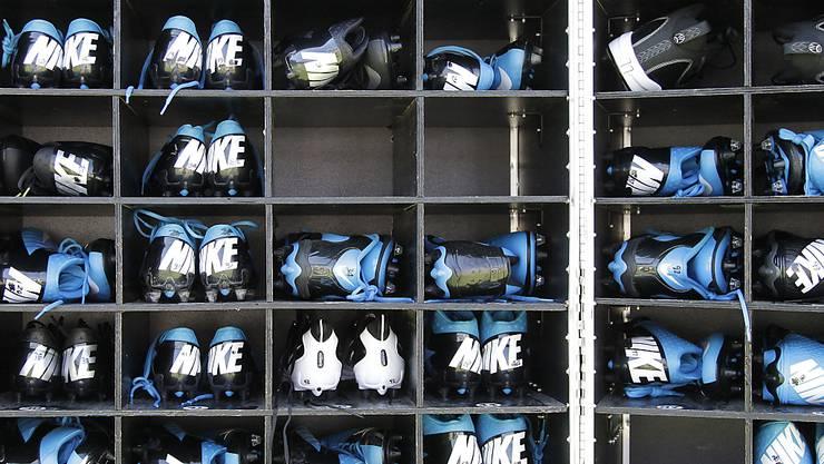 """""""Katastrophal"""": Amerikanische Schuhersteller wie Nike warnen US-Präsident Donald Trump vor den neuen US-Importzöllen gegen China. (Symbolbild)"""
