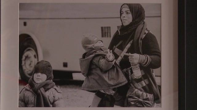 Fotoausstellung für Flüchtlinge