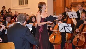 Sopranistin Rebecca Ockenden verzaubert das Publikum mit ihrer Stimme. IHK