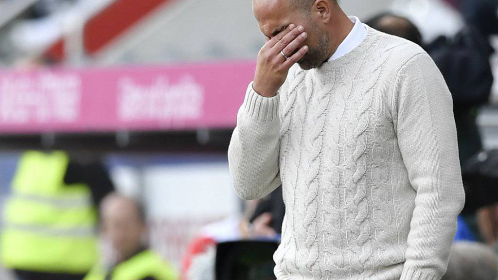 FCL-Trainer Markus Babbel ist verzweifelt: Sein Team verliert zum dritten Mal in Folge