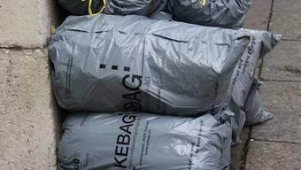 Auch die Preise für KEBAG Abfallsäcke und Marken sollen teurer werden. (Archiv)