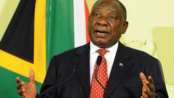 Der südafrikanische Präsident Cyril Ramaphosa will mehr Investoren ins Land  locken und den Tourismus ausbauen.