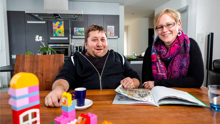 Glücklich über ein gesundes Kind: Philippe und Emilie Kaegi hätten aber gerne noch ein zweites gehabt.sandra ardizzone