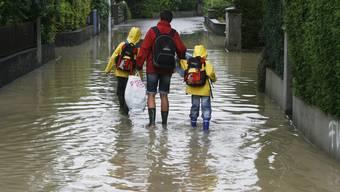 Noch ist die Überschwemmungsgefahr gering. (Archiv)