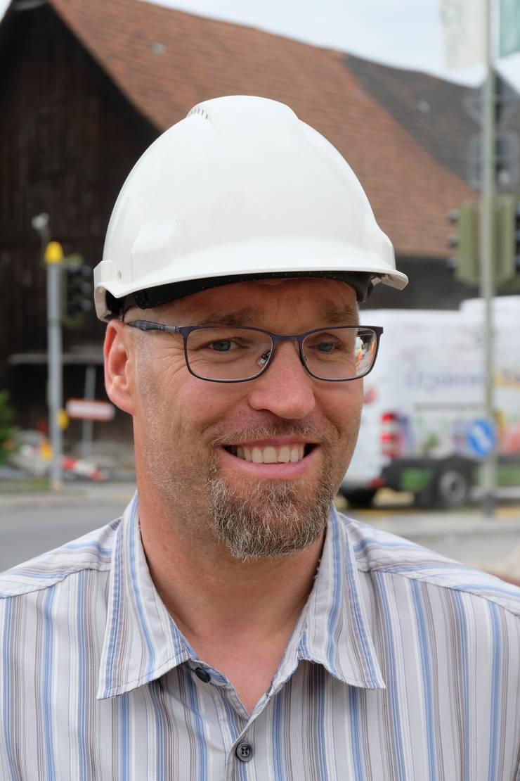 Joël Inniger, Abteilungsleiter Tiefbau und Werke der Gemeinde Weiningen