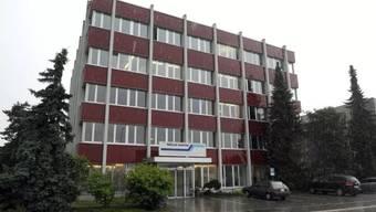 Der Firmensitz in Zofingen.