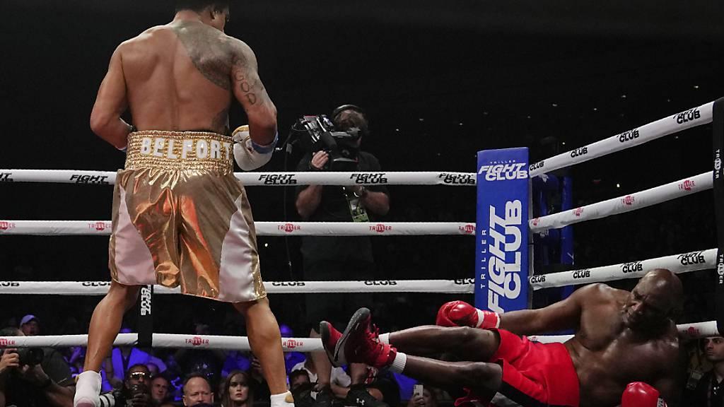 Bitterer K.o. für Ex-Box-Weltmeister Holyfield