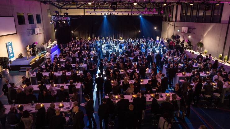 Erstmals fand die Sport-Gala in der Sport- und Freizeitarena GoEasy in Siggenthal statt.