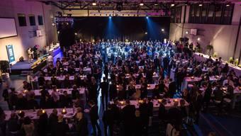 Die Protagonisten an der Aargauer Sport-Gala 2016