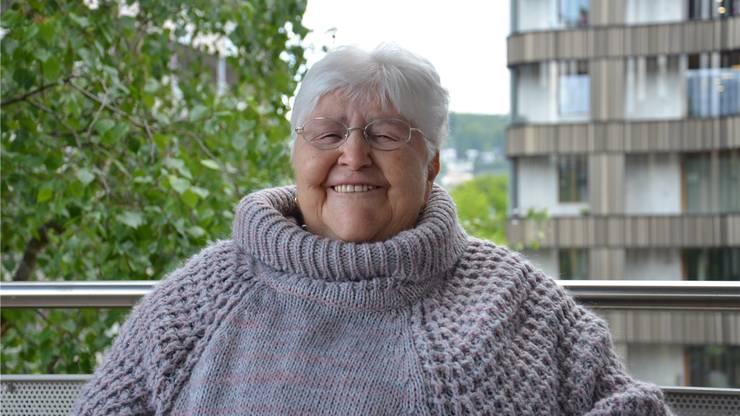 «Unseren Lohn bekamen wir in einem braunen Säckchen überreicht. Daran erinnere ich mich noch gut.» Theresia Spinas lebt seit 65 Jahren in der St. Josef-Stiftung