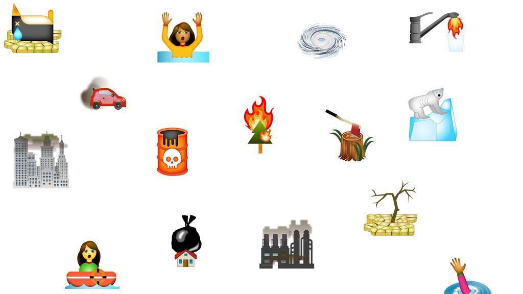 Mit Emojis gegen Klimawandel