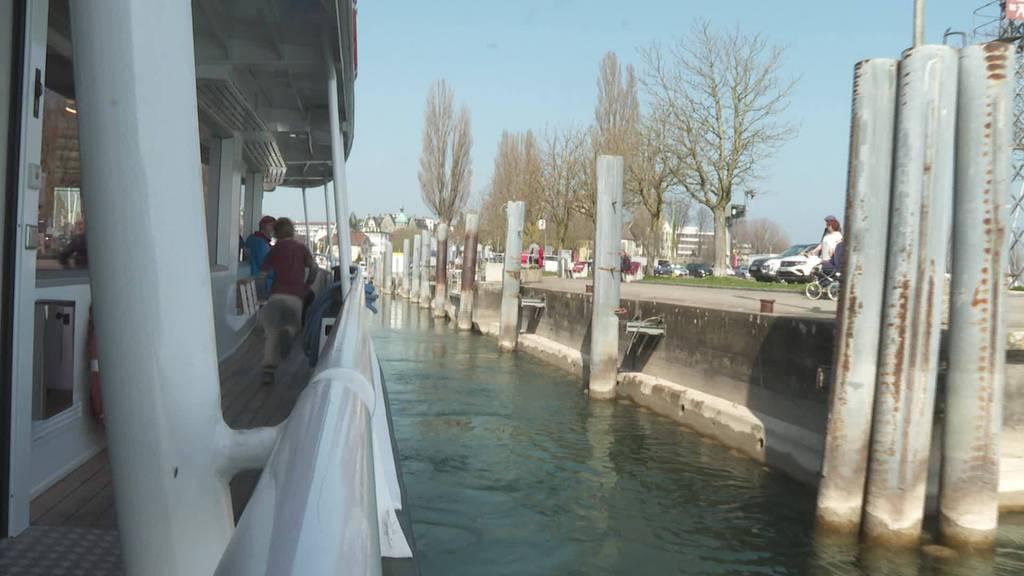 Eingeschränkter Saisonstart: Bodenseeschiffe nehmen Kurs auf
