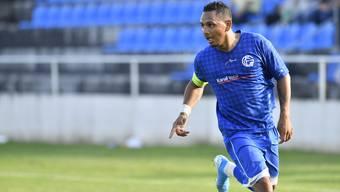 Samuel Zayas schoss den FC Grenchen 15 mit seinem Hattrick zum Sieg.